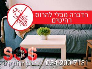 הדברת טרמיטים מבלי להרוס רהיטים